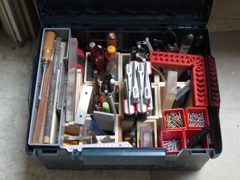 Modulboxen in einer L-Boxx