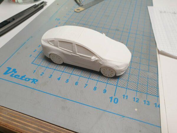 3D gedruckter PKW 1:50