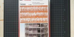 Preiser Figuren, weiß, 1:100