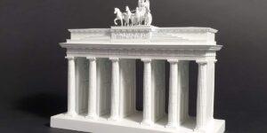 Brandenburger Tor 1:200, weiß